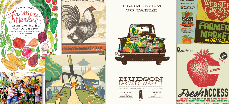 <h2>Poster Contest Winners Announced!</h2><h4>Winners displayed at FMC's National Farmers Market Week Celebrations!</h4>