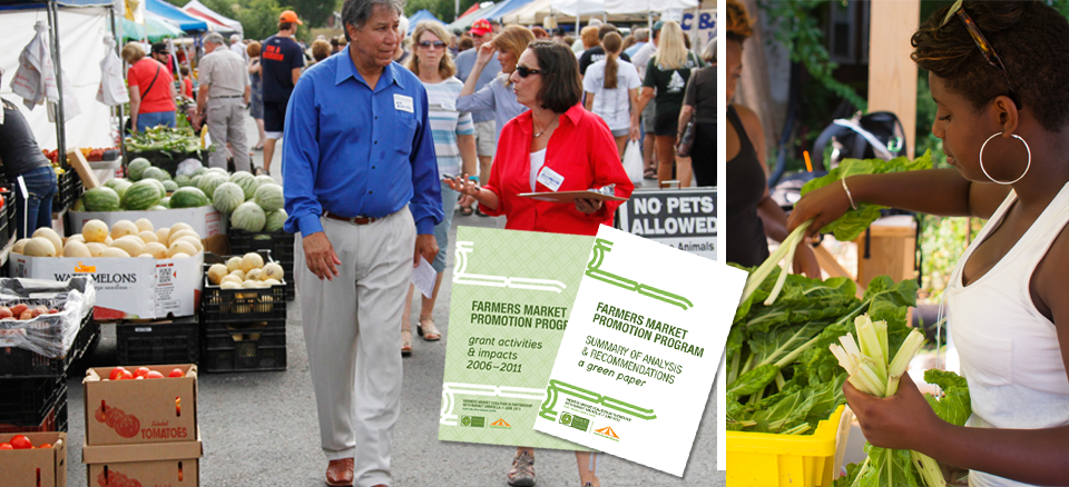 <h2>Farmers Market Promotion Program Report</h2><h4>FMC releases survey report of FMPP grantees from 2006-2011</h4>