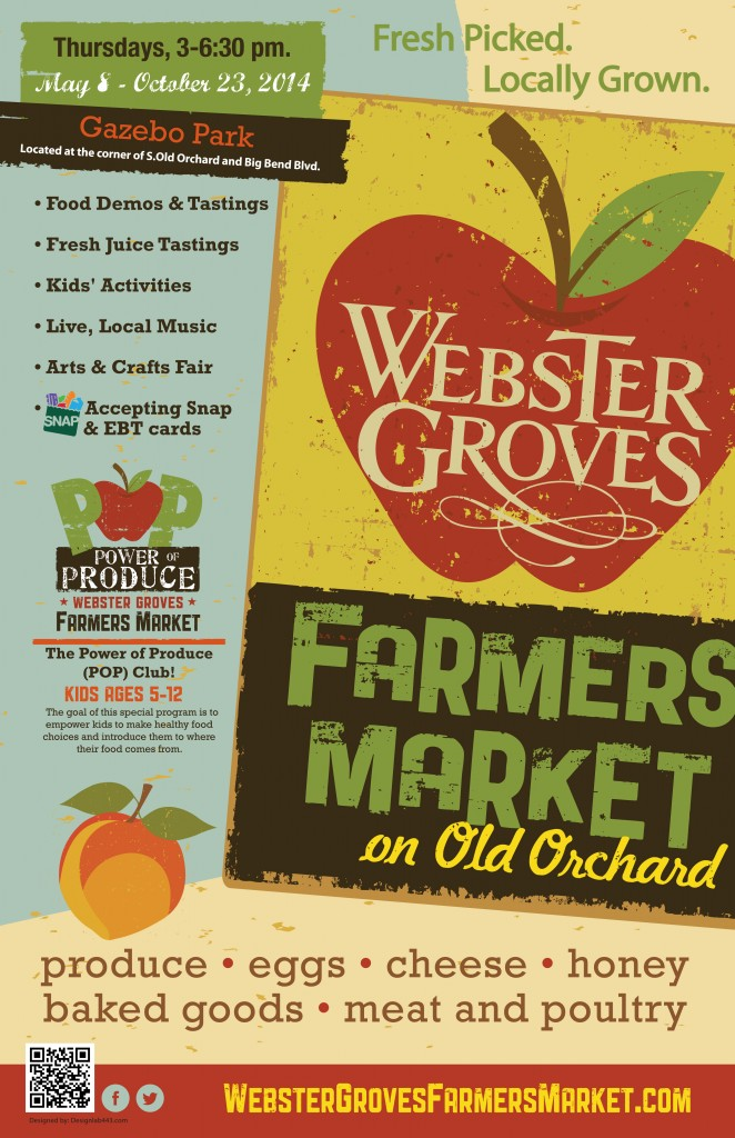 Second Place Tie: Webster Groves Farmers Market