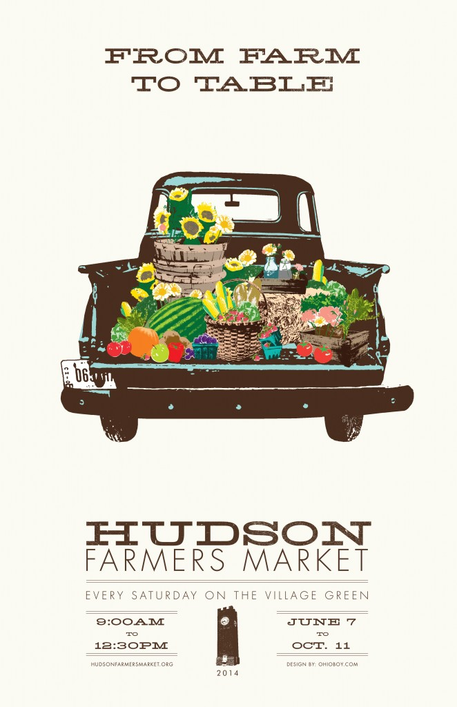 First Place: Hudson Farmers Market, Ohio