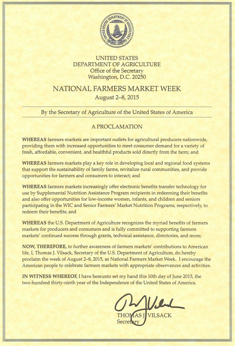 2015_NFMW_USDA_Proclamation