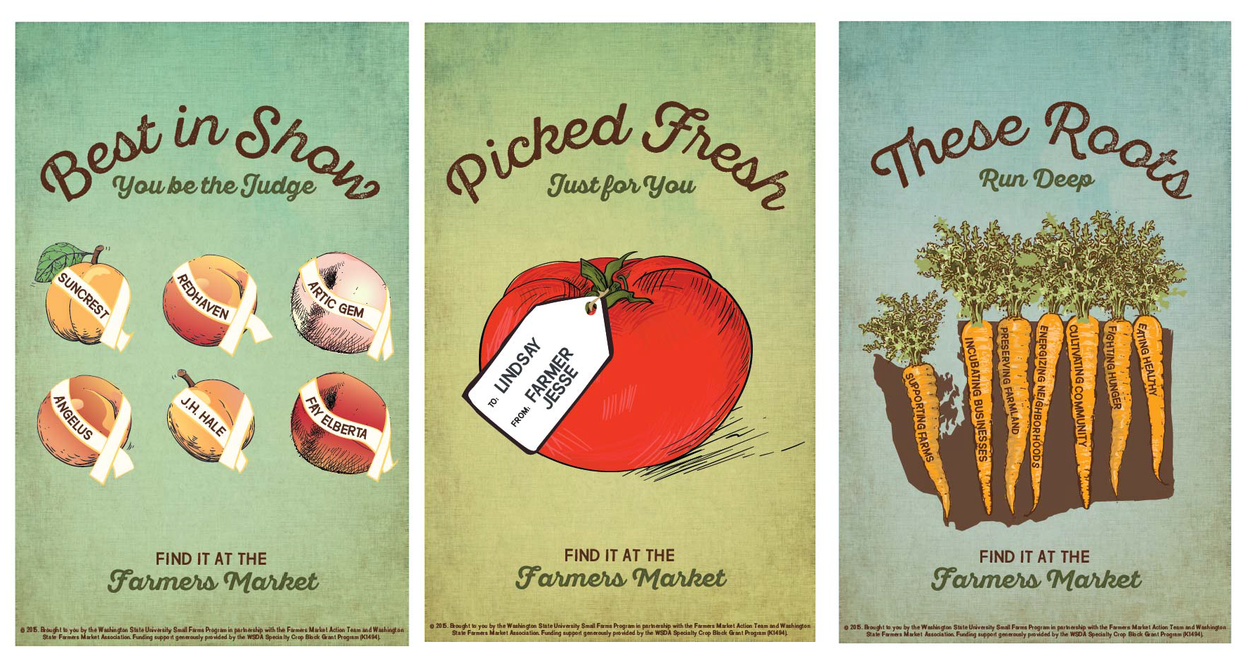 Farmers Market Posters