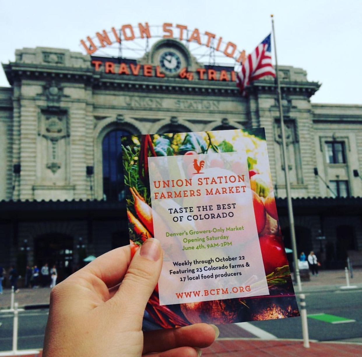 Denver Farmers Markets: Union Station Market- Downtown Denver's Saturday Gem