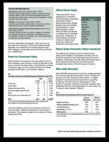 Local Food Marketing Practices Survey