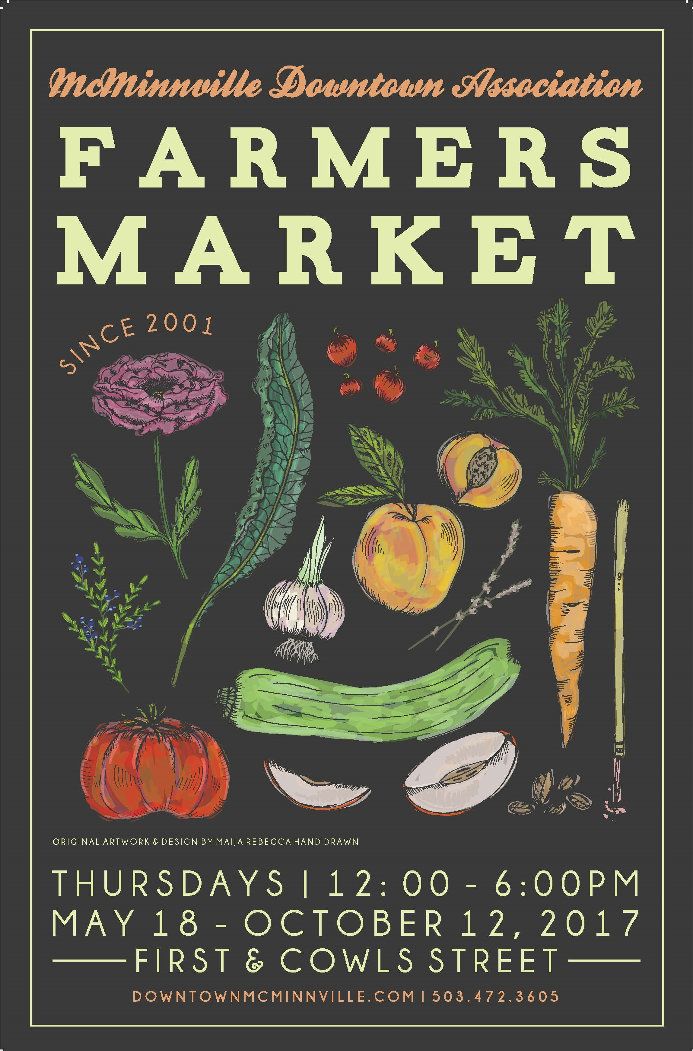 Local Market Tool >> FMC's 2017 Poster Contest Winners! - Farmers Market Coalition
